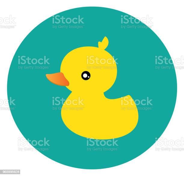 Kleine Ente Vektor Stock Vektor Art und mehr Bilder von Comic - Kunstwerk