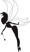 Little Fairy Silhouette