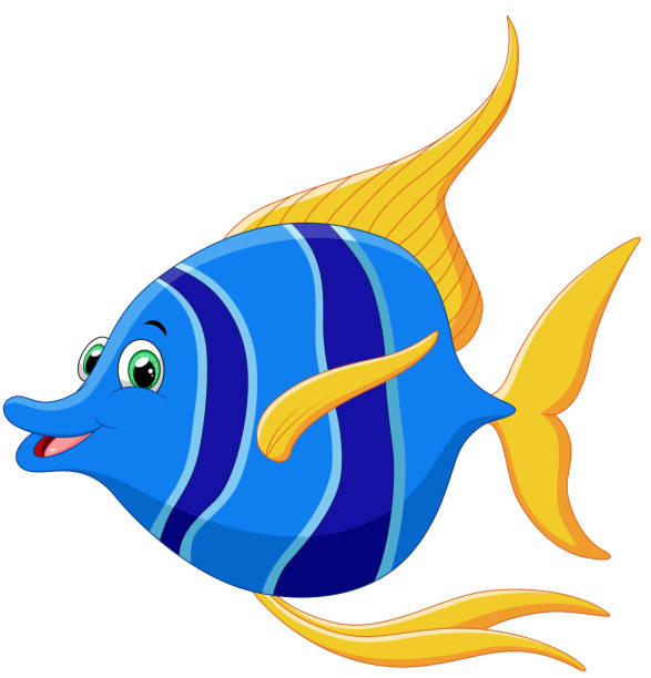 Top 60 Happy Fish Clip Art, Vector Graphics and ...