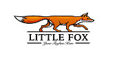 istock Little fox template 1257340725