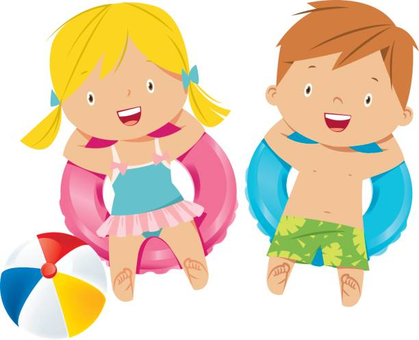 Royalty Free Small Swimming Pool Clip Art, Vector Images ...  Little