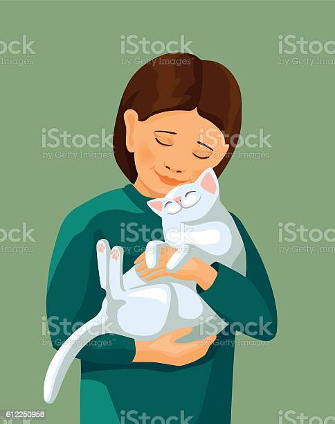 Little girl embracing white cat vector id612250958?b=1&k=6&m=612250958&s=612x612&h= 5f y9wdzzxnac3t3sfketoalemgod2nqr911oktujg=