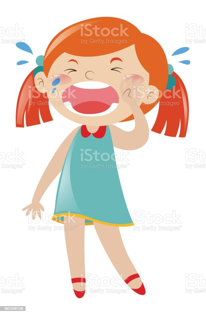 royalty free clip art of a asian girl crying clip art vector images rh istockphoto com