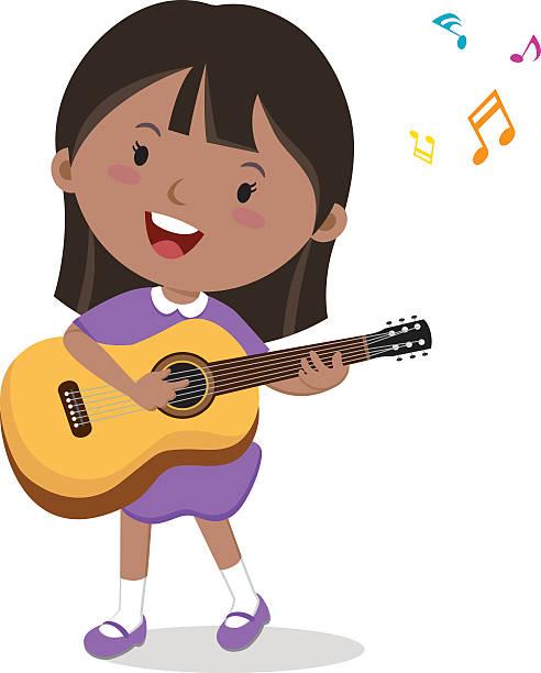 cartoon guitar player clipart - Clipground  Cartoon Girl Guitarist