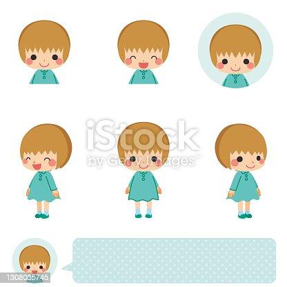 istock Little Girl 1308035745