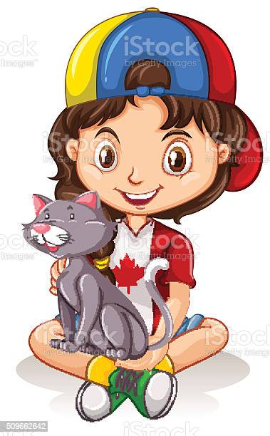 Little girl with gray cat vector id509662642?b=1&k=6&m=509662642&s=612x612&h=vollqy0e1na5p0i39q ih taeb3nsy1qsbujvx4cv7q=