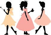A fairy, princess and ballerina. Click below for more kid's stuff.