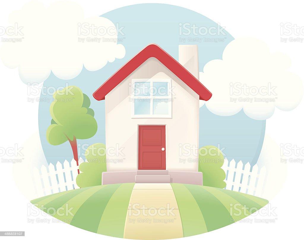 Little Housesymbol Stock Vektor Art Und Mehr Bilder Von