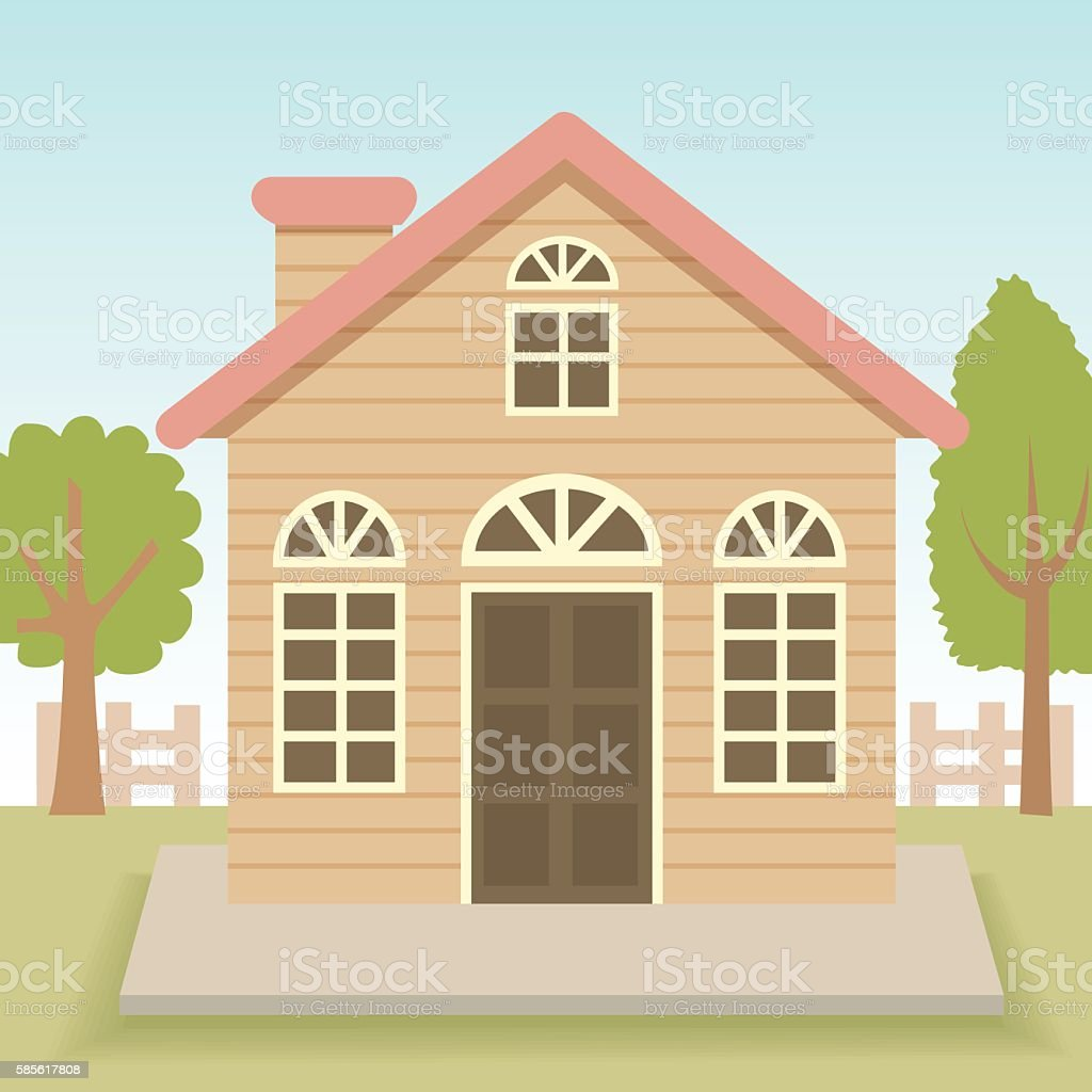 Petite house - Illustration vectorielle