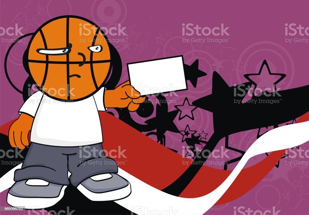 little kid basketball head cartoon background royalty-free little kid basketball head cartoon background stock vector art & more images of basketball - sport