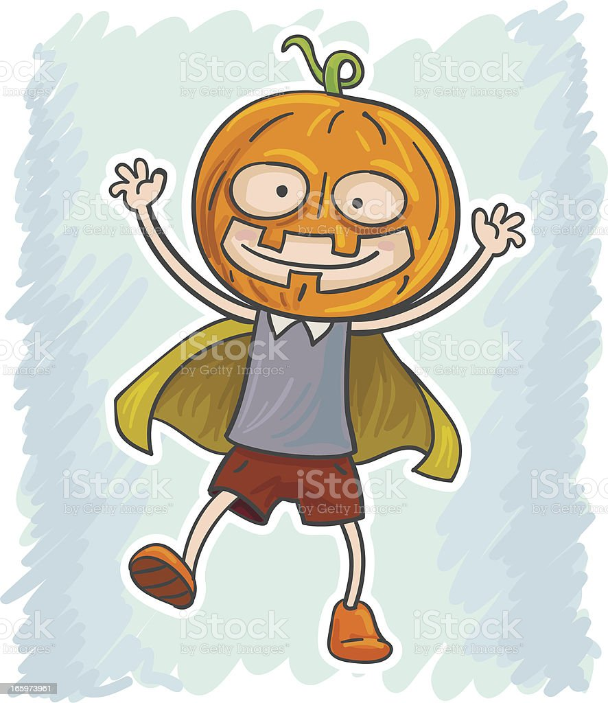 Little kid in halloween costume royalty-free little kid in halloween costume stock vector art & more images of autumn