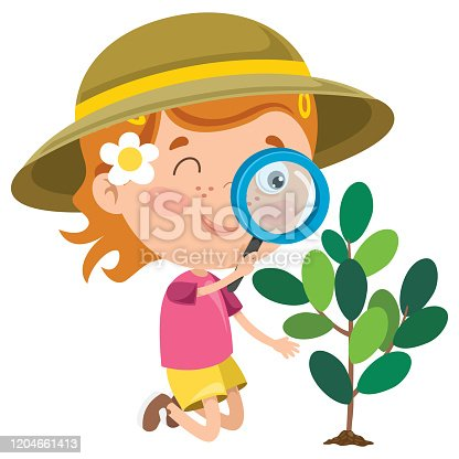 istock A Little Kid Using Magnifier 1204661413