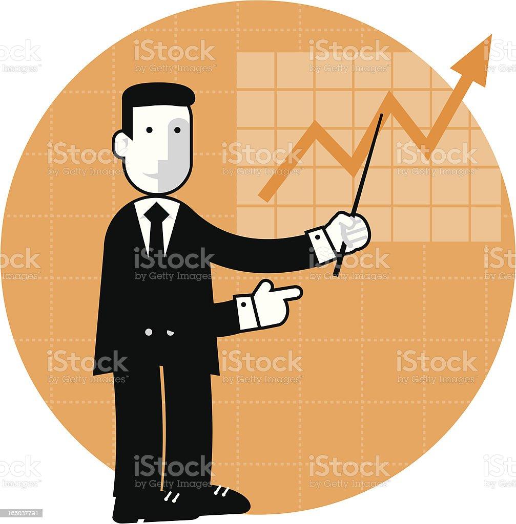 little man: presentation royalty-free stock vector art