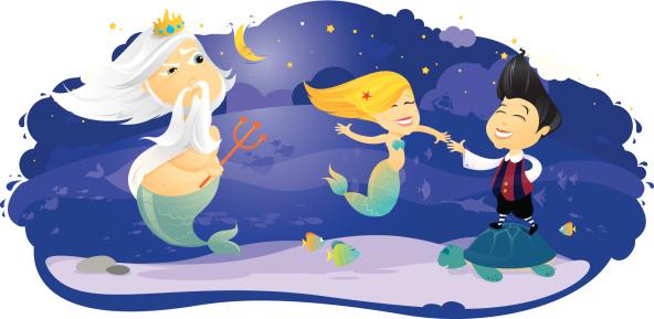 Little Mermaid dancing