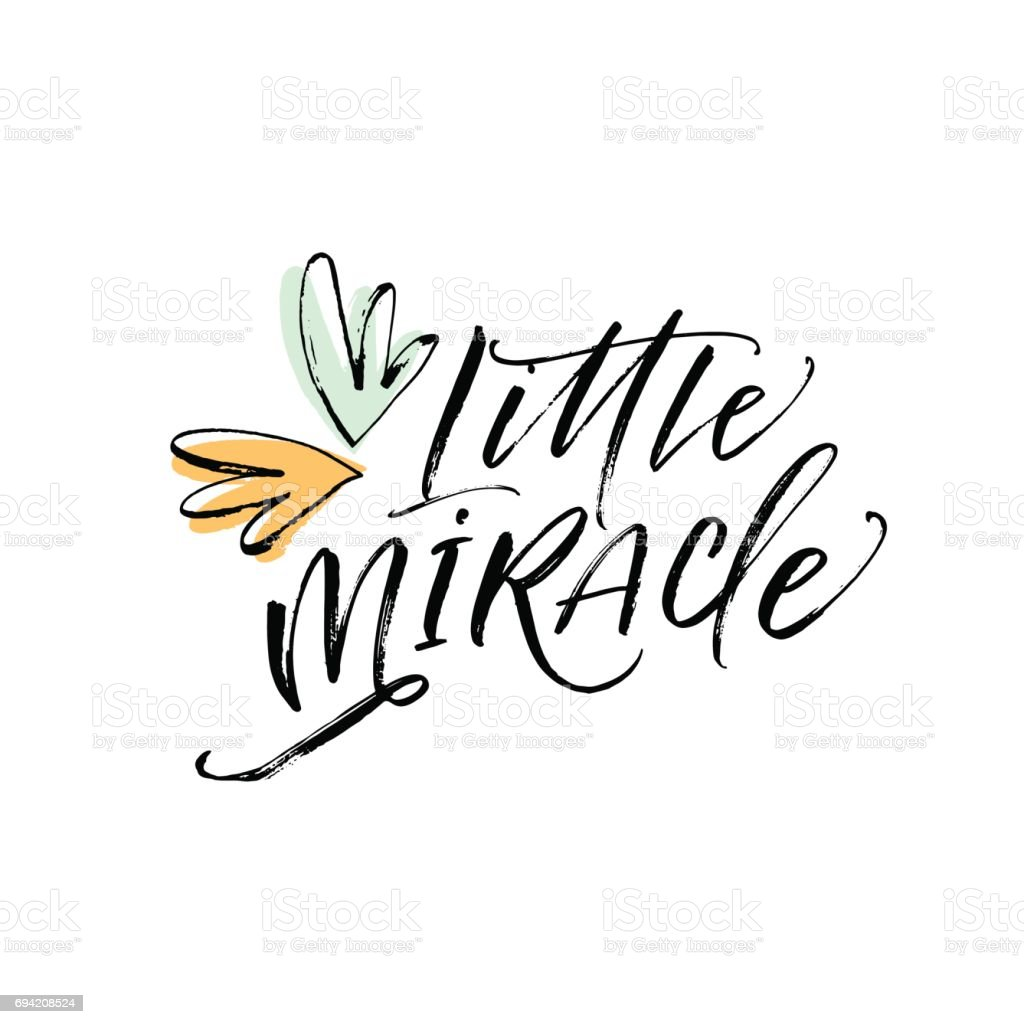 Little miracle card.