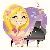 Kostenlose Clipart und Vektorgrafiken für Klavier Spielen ...