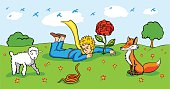 Little Prince and characters
