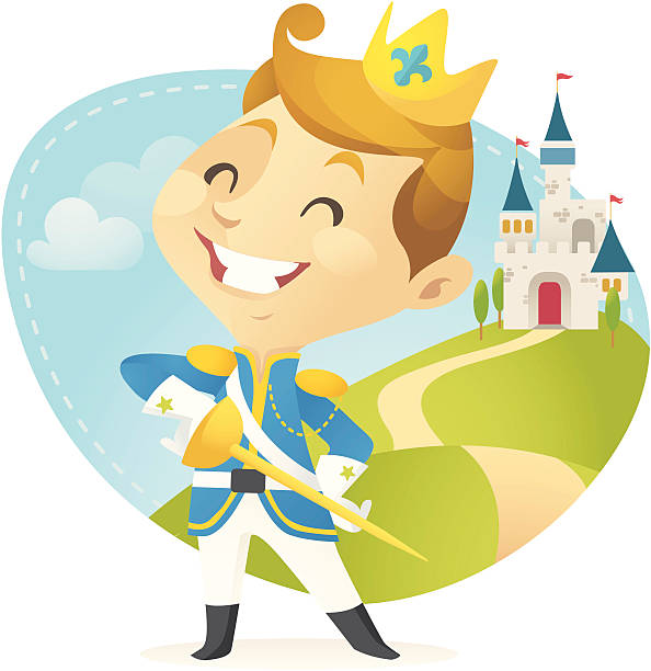 little prince - chihhang stock illustrations
