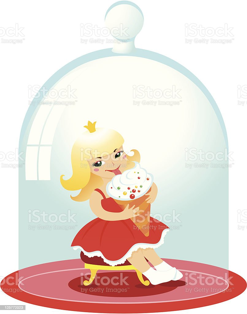 Little Princess royalty-free little princess stock vector art & more images of baby