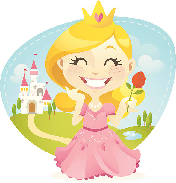 little princess - chihhang stock illustrations