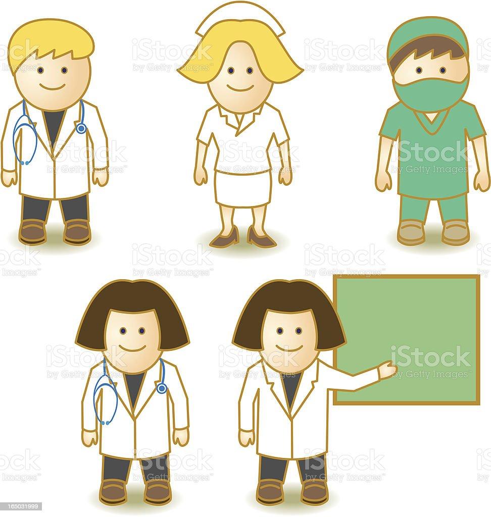 Little Experten-medical – Vektorgrafik