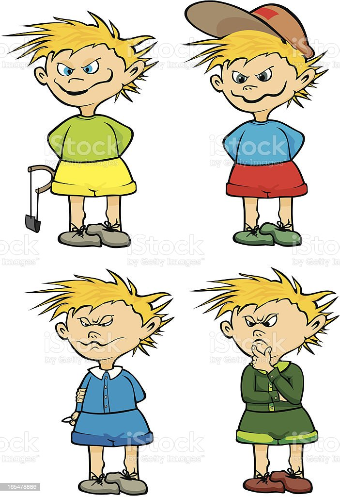 little rascal and schoolboy royalty-free little rascal and schoolboy stock vector art & more images of arm sling
