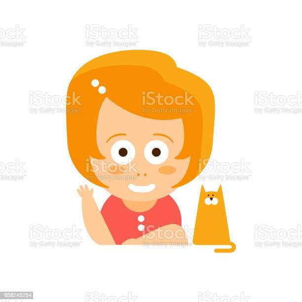 Little red head girl in red dress waving and smiling vector id638245254?b=1&k=6&m=638245254&s=612x612&h=2famrlj61tshwybquloziqemwqi 3lam tmwlfuap3g=
