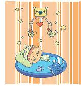 Cute Baby Spleeping
