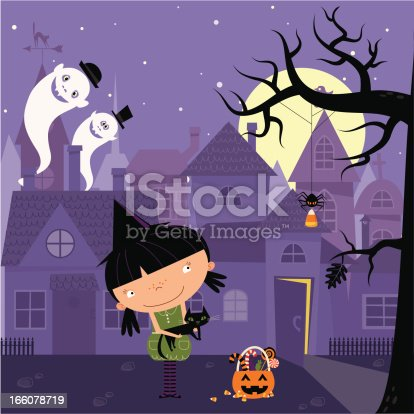 istock Little witch 166078719