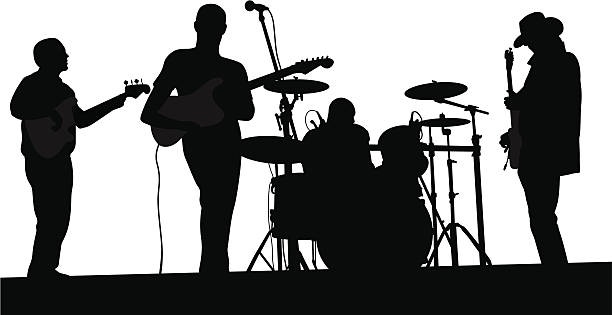 Royalty Free Pop Band Clip Art, Vector Images ...