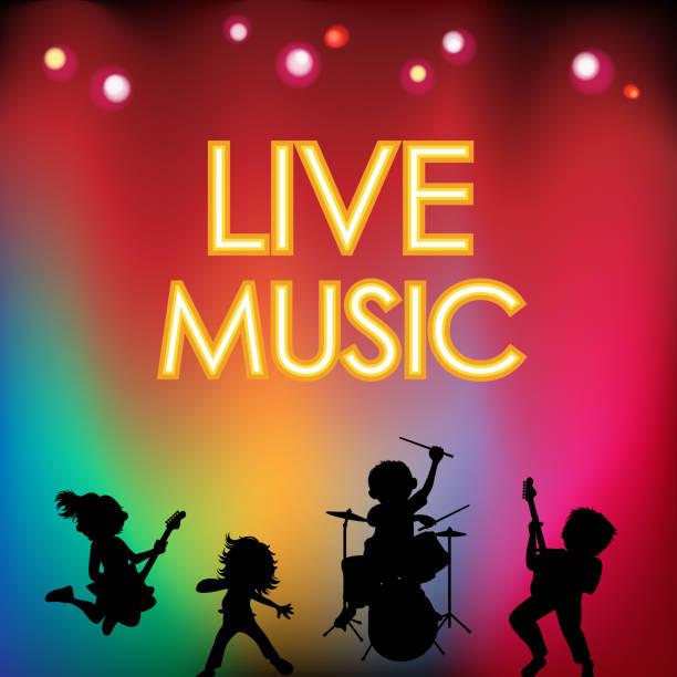 Arts Live Song Room: Rock Musician Clip Art, Vector Images & Illustrations