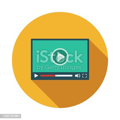 istock Live Streaming Protest Icon 1252197901