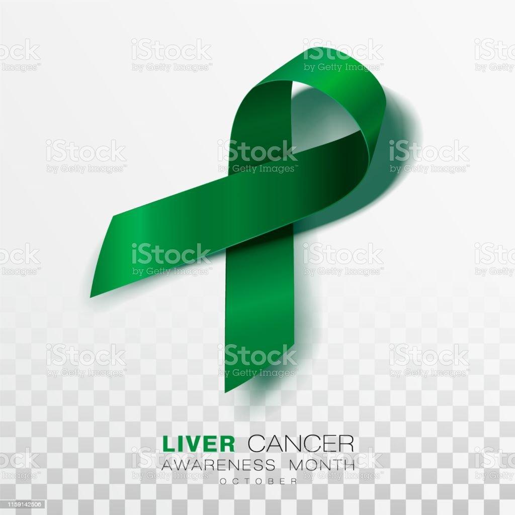 Couleur De L Emeraude mois de sensibilisation au cancer du foie ruban vert