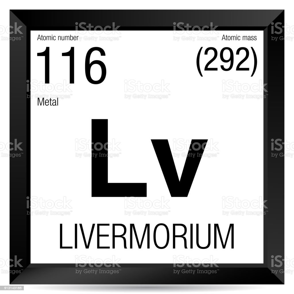 Livermorium symbol element number 116 of the periodic table of the element number 116 of the periodic table of the elements chemistry royalty urtaz Choice Image