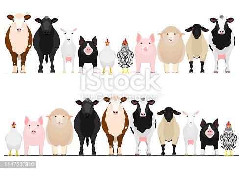 livestock border set
