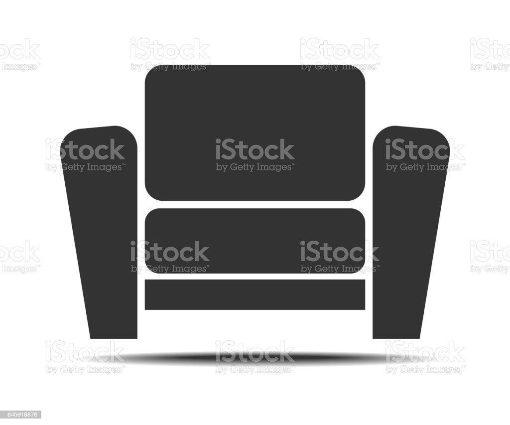 Wohnzimmer Sessel Symbol Stock Vektor Art Und Mehr Bilder Von