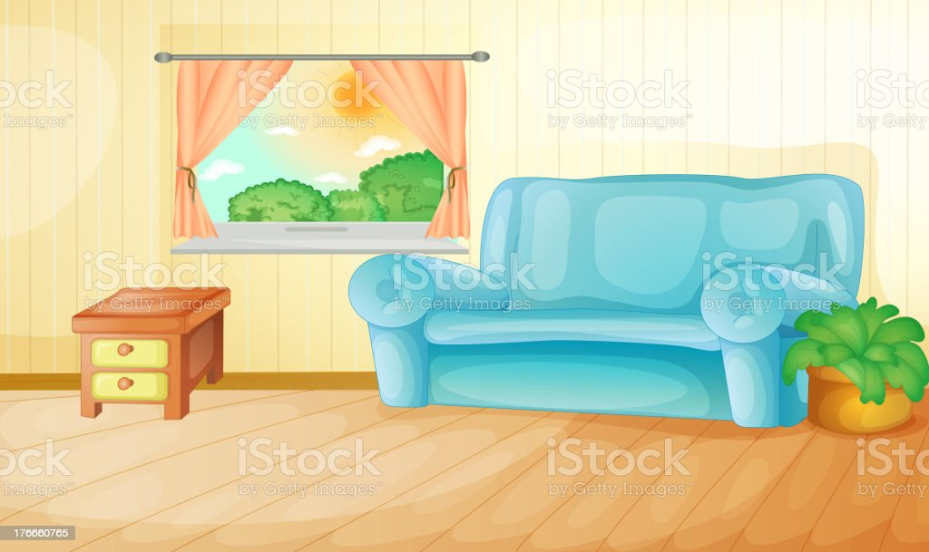 Living room royalty-free living room stock vector art & more images of illustration