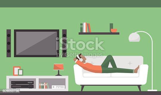 istock Living room 609053736
