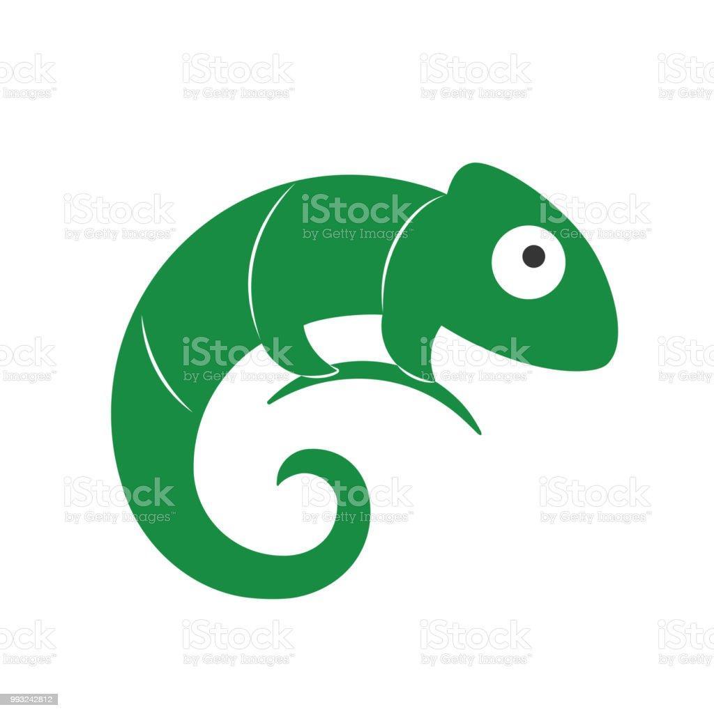 Lizard Symbol Vektorlogo Vorlage Stock Vektor Art Und Mehr Bilder