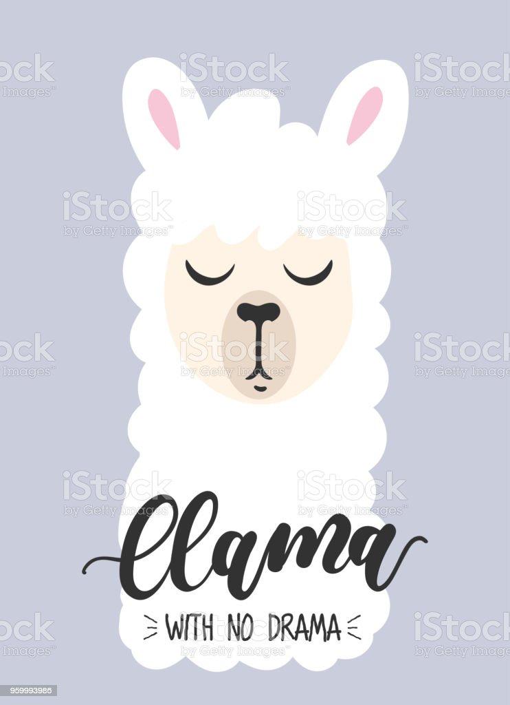 Ilustración De Llama Sin Tarjeta De Inspiración Del Drama