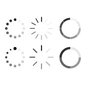 Set icon buffer and loading symbol