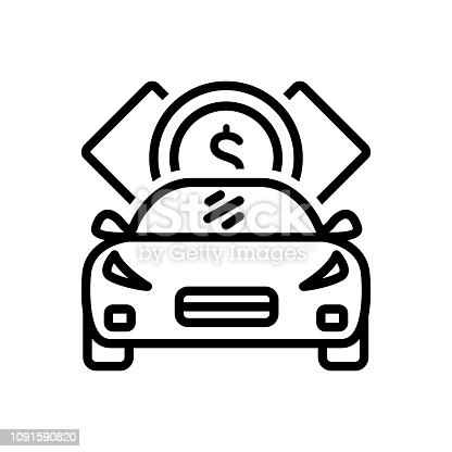 Icon for loan, indebtedness, debt, minus, loaning, borrow, car