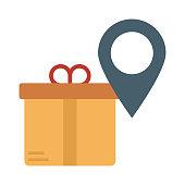 location   gift  marker