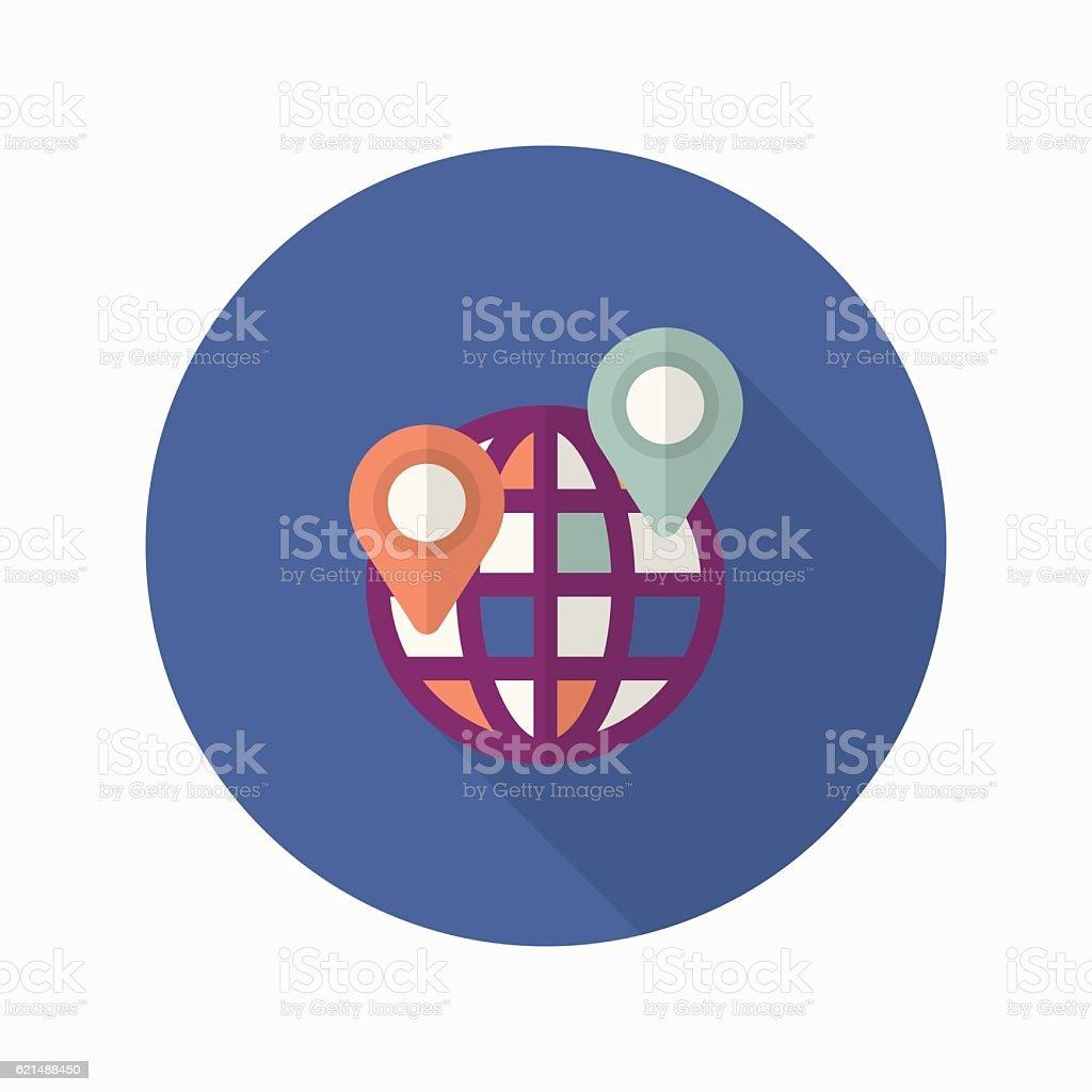 Lieu icône lieu icône – cliparts vectoriels et plus d'images de abstrait libre de droits