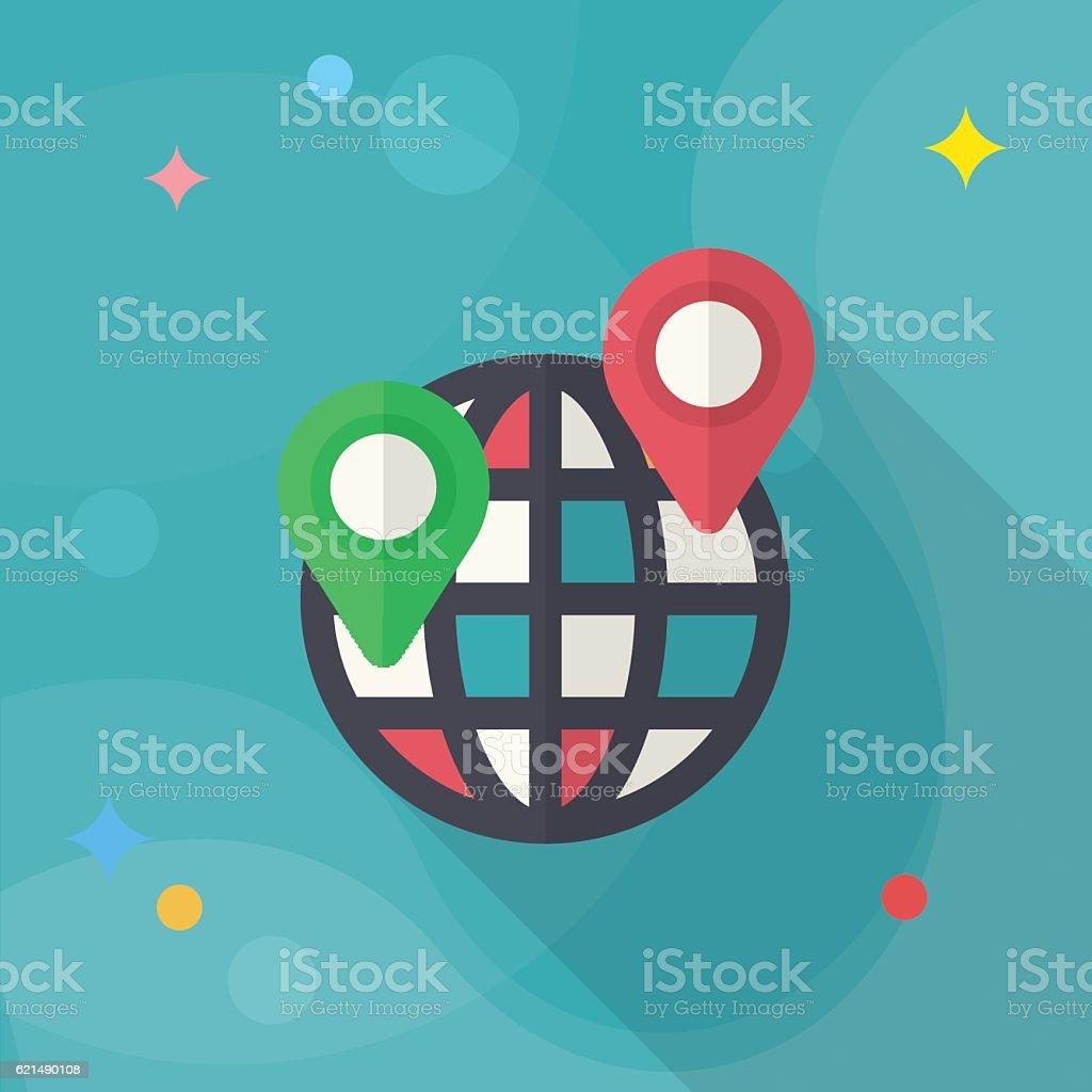 Lage-Symbol Lizenzfreies lagesymbol stock vektor art und mehr bilder von abstrakt