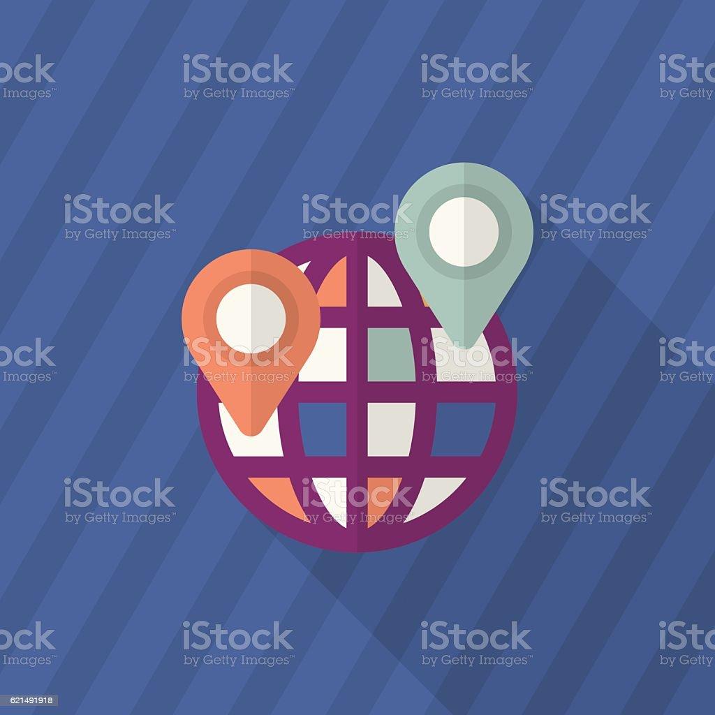 Icona di posizione icona di posizione - immagini vettoriali stock e altre immagini di arrangiare royalty-free