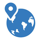 Location, map icon - Perfect for use in designing and developing websites, printed files and presentations, Promotional Materials, Illustrations or any type of design project.
