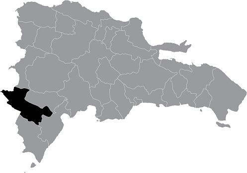 Location map of Independencia province