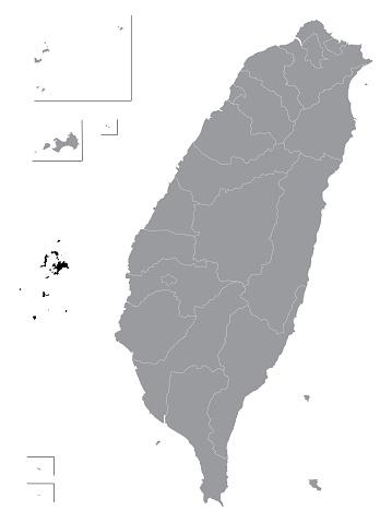 Location Map of Penghu County (Pescadores Islands)