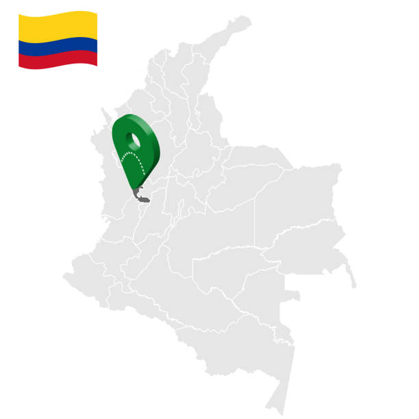 Location of Risaralda on map Colombia. 3d Risaralda location sign. Flag of Risaralda. Quality map with regions  of Colombia for your web site design, logo, app, UI. Stock vector. EPS10. Location of Risaralda on map Colombia. 3d Risaralda location sign. Flag of Risaralda. Quality map with regions  of Colombia for your web site design, logo, app, UI. Stock vector. EPS10. pedreiro stock illustrations